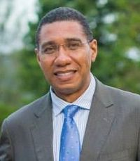 Andrew Holness of the Jamaica Labour Party is the current Prime Minister
