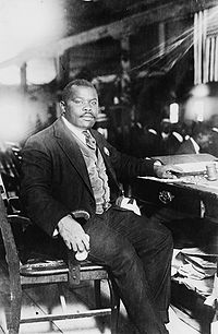 Marcus Garvey, father of the Back to Africa Movement and Jamaica's first National Hero