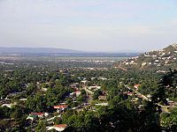 Northern suburbs of Kingston, Jamaica's capital and largest city
