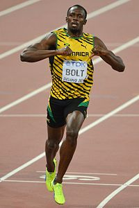 Usain Bolt is one of the most prominent sprinters in the world