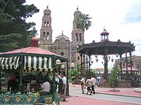 The Plaza de Armas and the Cathedral of the Holy Cross, Our Lady of Regla and St Francis of Assisi