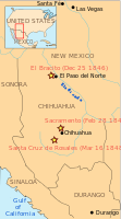 Battles of Mexican–American War in Chihuahua