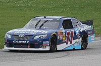 Elliott Sadler at Road America in 2014.