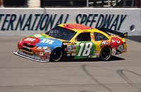 Kyle Busch at Michigan International Speedway in 2008