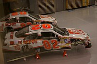 Joey Logano's No. 02 cars in 2008