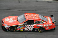Tony Stewart's final season with Gibbs and The Home Depot. And his only season with Toyota, at Daytona International Speedway in 2008