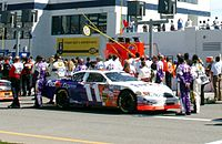 The original No. 11 car driven by Jason Leffler in 2005.