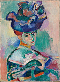Gertrude and Leo Stein bought Henri Matisse's, Woman with a Hat, 1905, a portrait of the artist's wife, Amelia, now in the San Francisco Museum of Modern Art