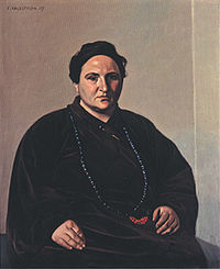 Félix Vallotton, Portrait of Gertrude Stein, 1907