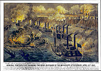 Grant's gamble: Porter's gunboats running the Confederate gauntlet at Vicksburg Published 1863