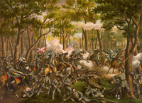 Battle of the Wilderness Published 1887