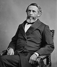 Secretary of Treasury George S. Boutwell aided Grant to defeat the Gold Ring. Brady 1870–1880