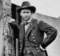 Commanding General Grant at the Battle of Cold Harbor. Egbert Guy Fowx, June 1864