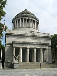 """Grant National Memorial, known as """"Grant's Tomb"""", largest mausoleum in North America"""