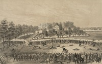The Battle of Jackson, fought on May 14, 1863, was part of the Vicksburg Campaign. Published 1863