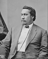 Ely Samuel Parker Grant appointed Parker the first Native American (Seneca) Commissioner of Indian Affairs. Brady circa unknown