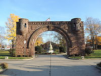 Pershing Field entry in The Heights