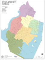 The 6 Wards of Jersey City