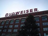 The packaging plant at the Anheuser-Busch headquarters in St. Louis, Missouri