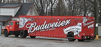 Budweiser delivery truck, Romulus, Michigan
