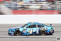 Kevin Harvick won the second stage.