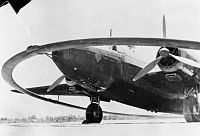 A Vickers Wellington fitted with a DWI, magnetic mine exploder, Ismailia, Egypt