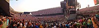 Panorama of the Fare Thee Well performance at Soldier Field, Chicago on July 5, 2015