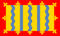 The banner of arms of Cambridgeshire County Council, used as de facto flag of the County of Cambridgeshire until 1 February 2015