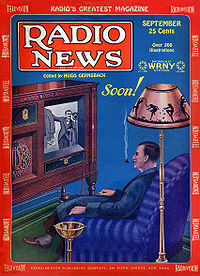 Television was still in its experimental phase in 1928, but the medium's potential to sell goods was already predicted.