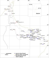 Late Iron Age sites in Oman.