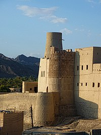 Bahla Fort, a UNESCO World Heritage site, was built between 12th and 15th c. by the Nabhani dynasty.