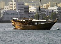 The traditional Dhow, an enduring symbol of Oman