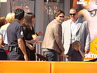 Carrey with his family at the Horton Hears a Who! premiere in 2008
