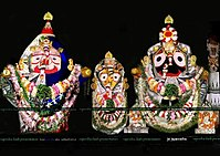 Jagannath living in Sri Mandir.