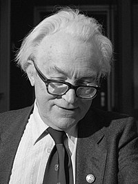 Michael Foot, former Leader of the Labour Party