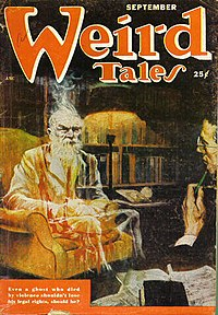 """The novelette """"Legal Rites"""", a collaboration with Frederik Pohl, the only Asimov story to appear in Weird Tales"""