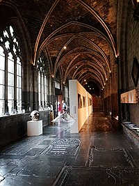 Art exhibition in the cloisters of Our Lady's