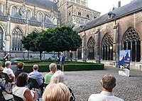 Carillon concert in the cloister yard of St Servatius'