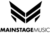 """Logo of their record label """"Mainstage Music"""""""
