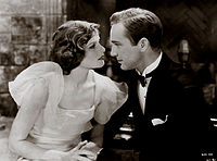 Hepburn's first movie appearance, in the melodrama A Bill of Divorcement (1932). Critics praised her performance, and she became an instant star.