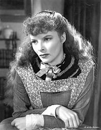 As Jo March in Little Women (1933), which was one of the most popular movies of its day