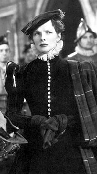 In Mary of Scotland (1936), one of a series of unsuccessful films Hepburn made in this period