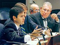 Rubio as Chairman of the House Select Committee on Private Property Rights, October 2005
