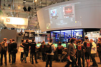Gamescom 2011 in Cologne, where the game was first made playable to the public