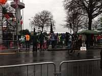 The Shamrock Run, held annually on St. Patrick's Day