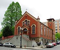 St. Michael the Archangel Church in downtown