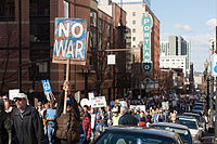 Protests against the Iraq War on March 19, 2006
