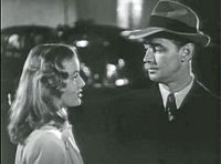 Lake and Alan Ladd in trailer for The Blue Dahlia (1946)