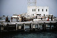 Pier B of the Truman Annex during the boatlift.