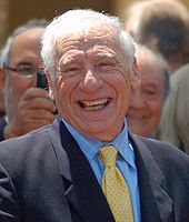 Mel Brooks on screen and stage
